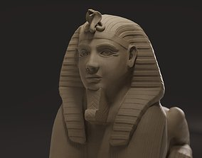 3D model Egyptian Sphinx egypt