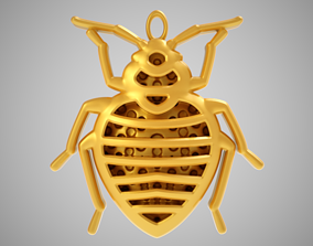 Little Bug Necklace 3D print model