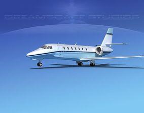 Cessna 680 Citation Sovereign V04 3D model