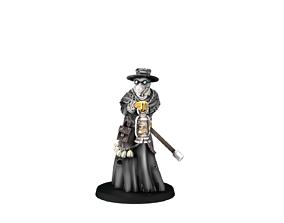3D printable model Plague Doctor