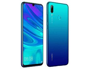 Huawei P Smart 2019 Aurora Blue 3D model