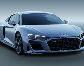 Audi R8 V10 RWD 2021 3D
