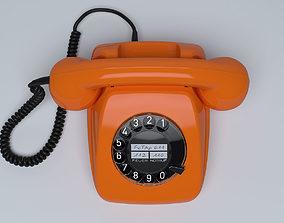 Retro Telephone FeTAp 611 3D model