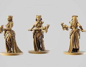3D print model Wood driad