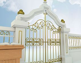 3D model Pearly Gates of Heaven
