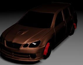 Mitsubishi Airtrek 3D model