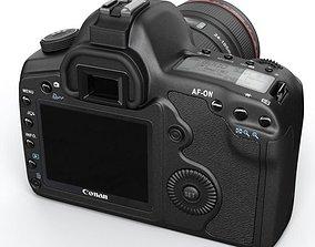 3D model Black Photo Camera
