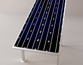 Solar Panel 3D model free