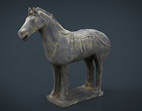 Terracotta Warriors War Horse 3D model