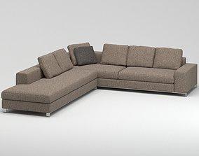 Minotti Williams Sofa 3D model