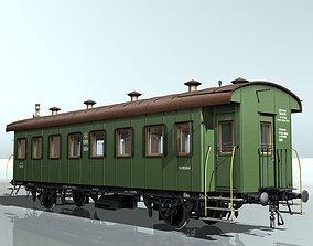 3D passenger carriage