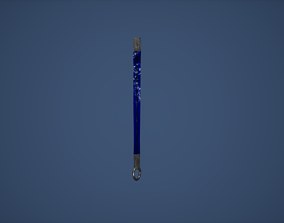 3D model Flat Rope Game Ready
