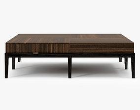 Holly Hunt Monsieur Coctail Table 3D