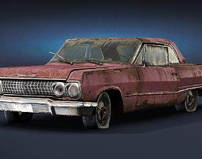 Chevrolet Impala 1963 Rusty 3D model