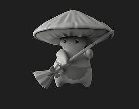 3D print model Mushroom figurines