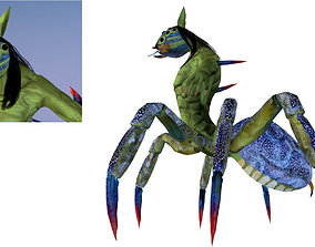 realtime Boss Monster Cave Crab Spider Man 3D Model 2