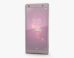3D model Sony Xperia XZ2 Ash Pink