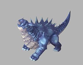 3D asset Dragon beast
