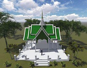 Buddha thailand 3D