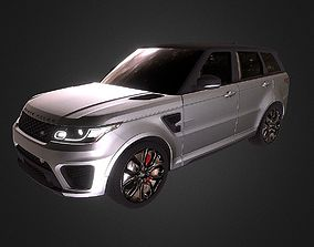 3D model The Range Rover SVR Special Vehicle Racing