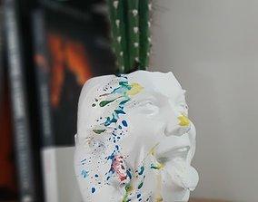 human face Anatomical skull 3D print model tableware