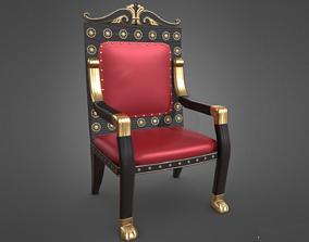 Fancy Chair 3D asset