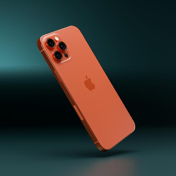 Vitamin C Orange iPhone