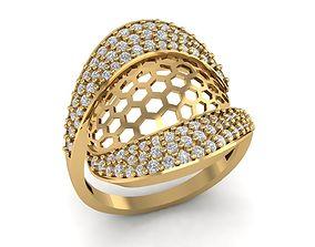 119 Gold Ring of Bosa 6 3D print model