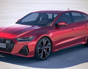 Audi RS7 Sportback 2020 3D model