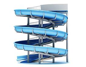 3D model Water Slide Outdoor