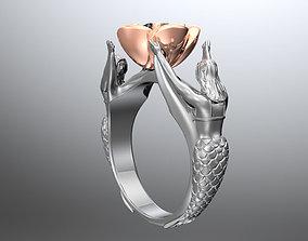 jewelry Fantasy ring 3D print model