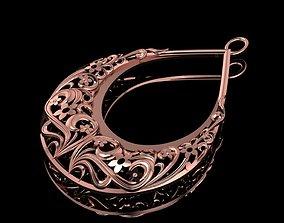 Carved necklace 02 3D printable model