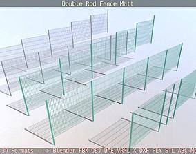 3D model Modular Double Rod Fence Matt - Package