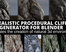 REALISTIC CLIFF GENERATOR FOR BLENDER 3D model