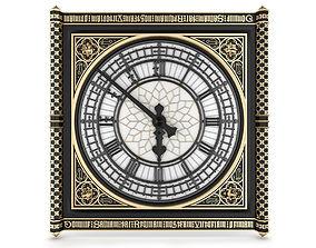 3D Big Classical Clock Luxury