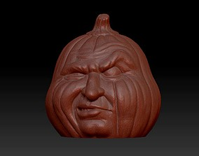 3D print model Pumpkin head face