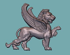 Lion onlay 3D print model