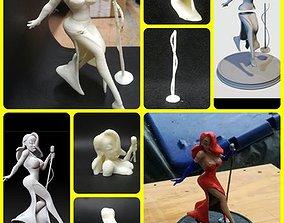 Who framed roger rabbit Jessic rabbit 3D print model 1