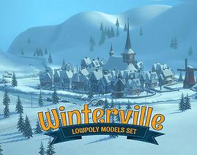 Winterville 3D asset