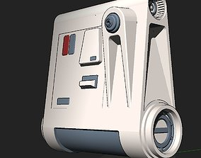 Snowtrooper back pack 3D printable model