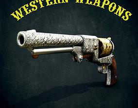 Colt Dragoon Revolver 3D model