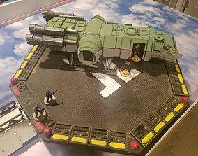 3D printable model Salamander Light Freighter MCB-1B3