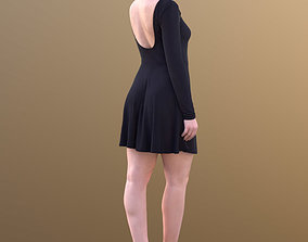 3D model Sheona 10451 - Walking elegant Girl