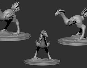 chocobo 3D printable model