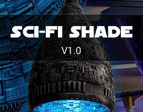 Sci-Fi Lamp Shade 3D print model