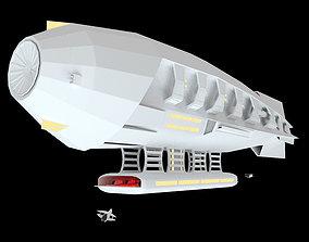 Space Zeppelin 3D model