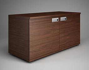 Office Cabinet 3D model set