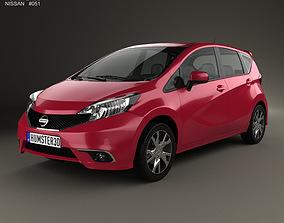 Nissan Note Dynamic 2013 3D model