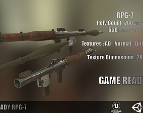 RPG7 Low Poly Game Ready 3D asset