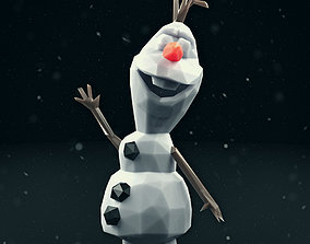 Olaf Low Poly 1 3D model